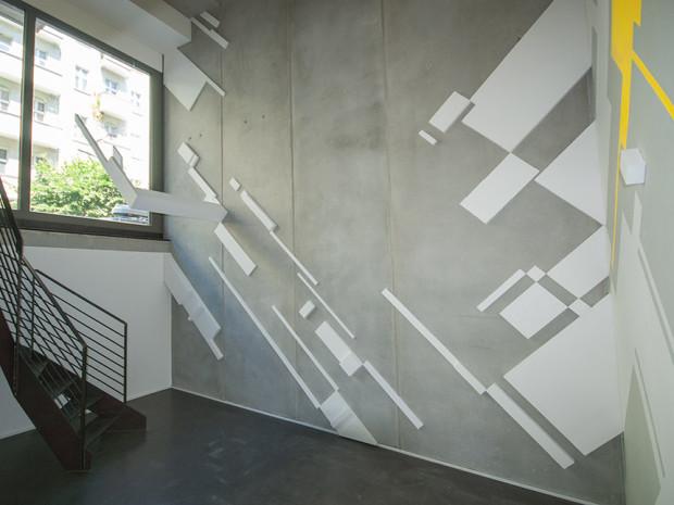 HZ, o.T., Ausstellungsansicht BC Gallery, 2013