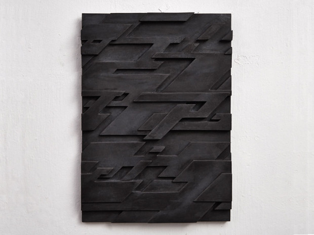 HZ, o.T., 2010, Beton, pigmentiert, 63,5 x 43 cm