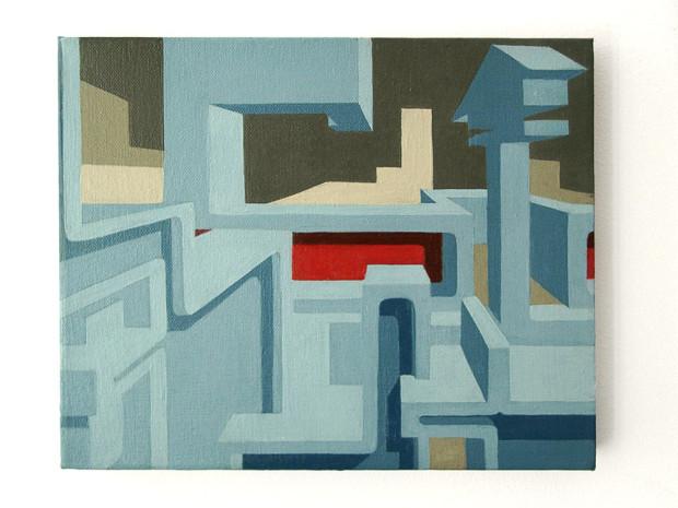 HZ_paintings_Rocket_2003_30x40cm_WS